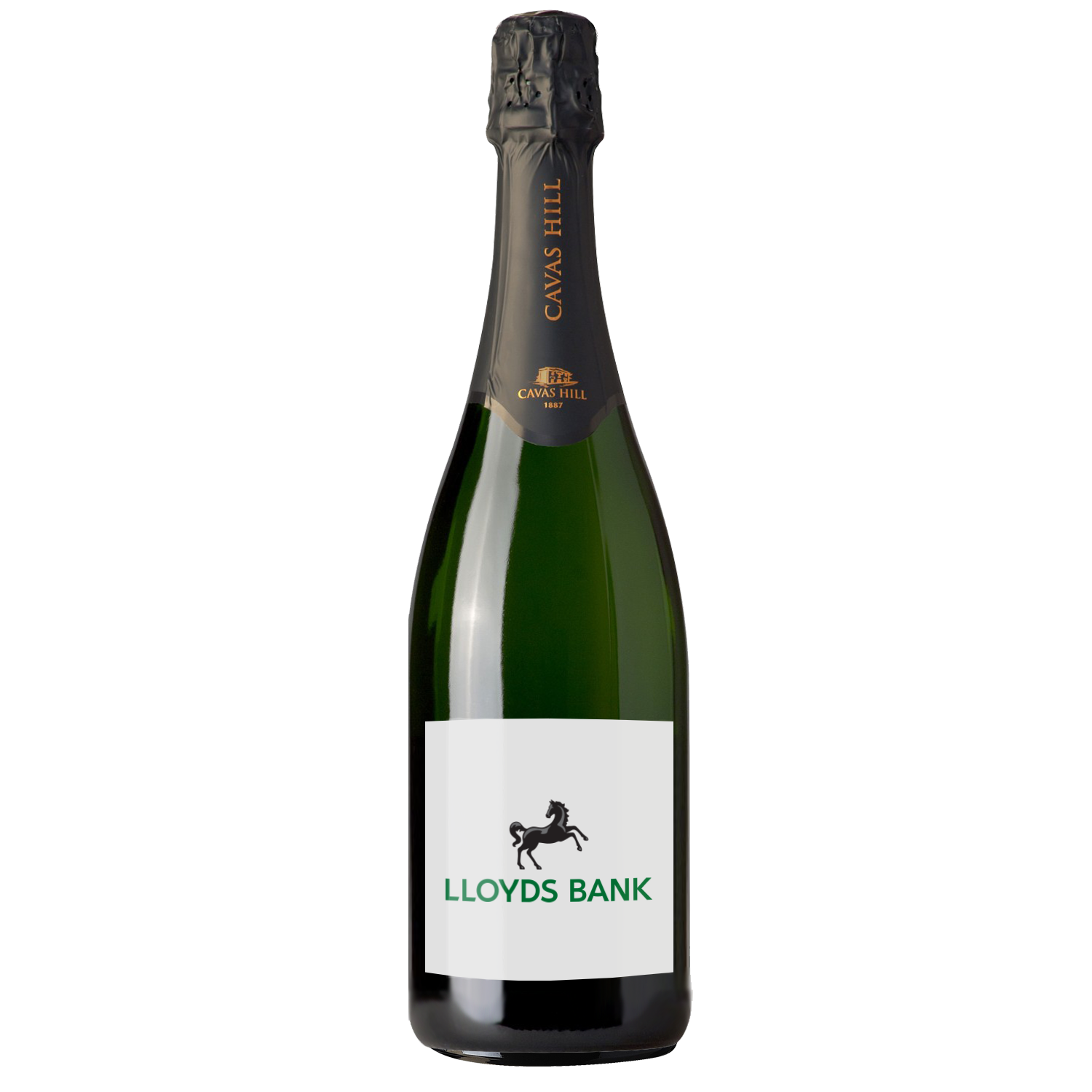 Branded Cavas Hill Brut Cava, Award Winning Personalised Wine