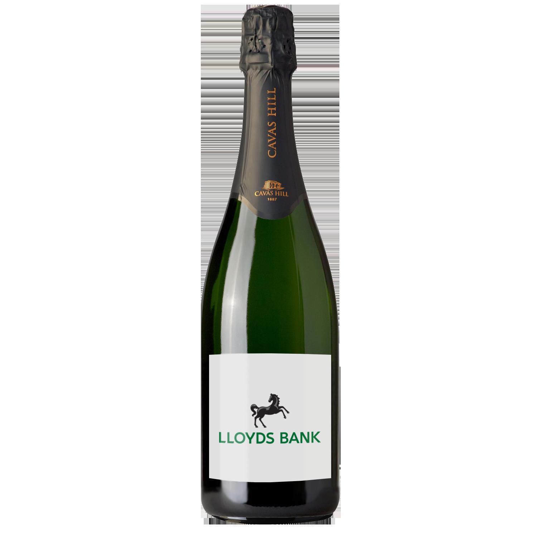 Branded Cavas Hill Brut Cava, Award Winning Personalised Wine